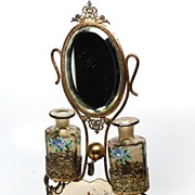 SOLD French Antique Palais-Royal Vanity Scent Set, Watch and Ring Holder