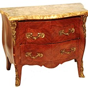 SOLD Antique Nineteenth Century French Miniature Louis XV Style Commode