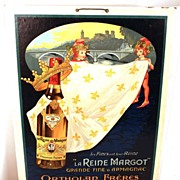 "SOLD Vintage French Affiche (Advertising Sign), ""La Reine Margot"" circa 1927"