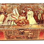 SOLD Antique French Metal Tin: Napoleon: circa 1895-1900