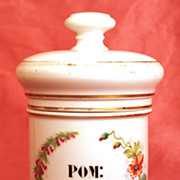 SOLD Antique Nineteenth Century French Apothecary Jar