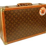 SOLD Vintage Louis Vuitton Briefcase (stamped model number 808897)