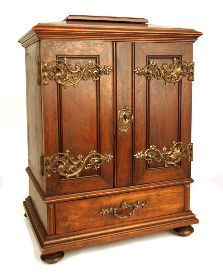 Antique French Miniature Armoire/Cabinet from parischateau ...
