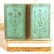 """SOLD Antique French Book, """"Almanach de Gotha"""" circa 1802"""