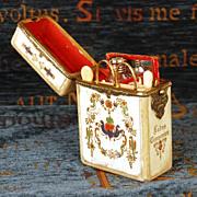 SOLD Antique Napoleon III era Necessaire