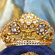 SOLD Antique Santos Diadem Couronne/Crown