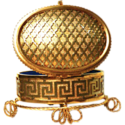 SOLD Antique French Napoleon III Gilded Bronze Box