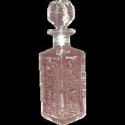 Hiram Walkers Deluxe  License Plate Bottle, 1974,  Kentucky, Nevada, Wisconsin, North Dakota.