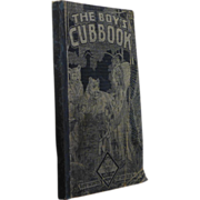 SOLD 1930 Cub Scouts Handbook, The Boys Cub Book, Boy Scouts of America