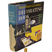 SALE 1956-61 Better Homes & Garden Decorating Book, Classic Retro  50's-60's Furniture ...