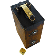 SALE Vintage Model T  Ford Magneto, Coil, Buzz Box, Ignition Spark, Hit or Miss Type, Wood and