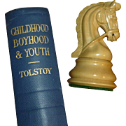 "SALE Leo Tolstoy's Short Stories; "" Childhood, Boyhood, and Youth "", Russia,  Transl"