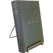 """SALE John Burroughs Book, """" Birds and Poets With Other Papers """", 1895, Cambridge Mas"""