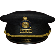 SALE Vintage Police Cap / Hat, City of Saint John  ( St. Jean ), Quebec Canada, St. Lawrence .