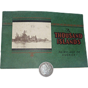 SALE Thosuand Islands Photograph book, Postcard - like, 1920 - 1930, New York & St. Lawrence .