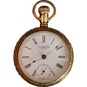 SALE Gold Filled NY Standard Pocket Watch, circa 1900 - 1905, Victorian Era, Model 60, New ...