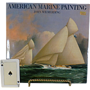 "SALE Classic Vintage Book, "" American Marine Painting "",  John Wilmerding, Expansion"