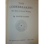 SALE The Codebreakers,The Story of Secret Writing, 1967, First Edition Book, by David Kahn ...