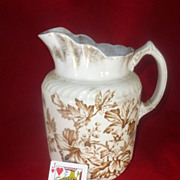 Vintage ceramic Pitcher, Large, Immaculate Condition