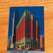 REDUCED Postcard The Sheraton Alantic Hotel, New York