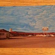 REDUCED Postcard Reed's Motor Lodge, Springerville, Arizona