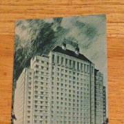 REDUCED Postcard Shamrock Hotel, Houston, Texas