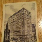 REDUCED Postcard Hotel Saint Regis