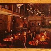 REDUCED Postcard Kelley's Famous Corral Room, Houston, Texas