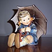 REDUCED Hummel Girl with Umbrella