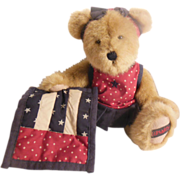 Retired Boyd's Bear – Liberty Katie B BearyProud Honey Plush Stuffed Bear