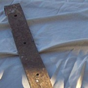 SALE Old 30 Inch Metal Barn Strap