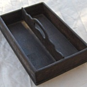 SALE Early Wood Cutlery Tray