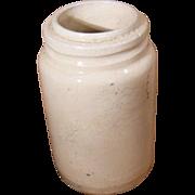 Early Stoneware Preserve Jar