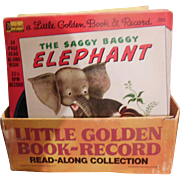 Boxed Set of 20 Little Golden Book Read Along Collection with Vinyl Records