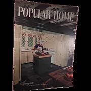 SALE PENDING Popular Home Magazine Spring 1949