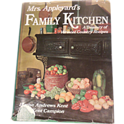 SALE Cookbook – Mrs. Appleyard's Family Kitchen – A Treasury of Vermont Country Recipes