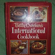 Book - Betty Crocker's International Cook Book