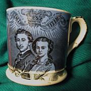 Royal Commemorative Mug 1863 Wedding of the Prince of Wales & Alexandra