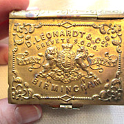 Antique Book Shaped Box for Pen Nibs