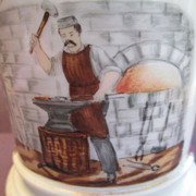 Occupational Mug, Blacksmith Late 19th Century