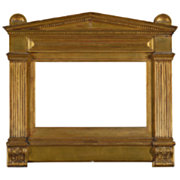 Original Sir Lawrence Alma -Tadema Tabernacle Frame Designed by the Artist for the Painting  .