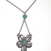 Vintage Sterling Art Nouveau Necklace