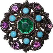 REDUCED Vintage Austro-Hungarian Brooch