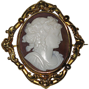 REDUCED Beautiful Antique Shell Cameo