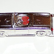Vintage Large Sterling Car Charm