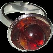 SALE Danish Modern Sterling Ring M.P. Christoftersen, Denmark