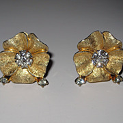 Jomaz Classic  Rhinestone Earrings Pretty