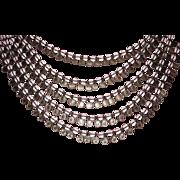 REDUCED Vintage Runway Crystal Beads Must See