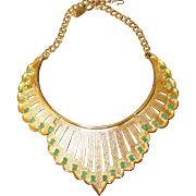 REDUCED Wonderful Vintage Jomaz Collar Necklace