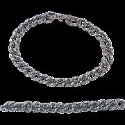 REDUCED Modernist Silver Alphonse La Paglia Necklace and Bracelet